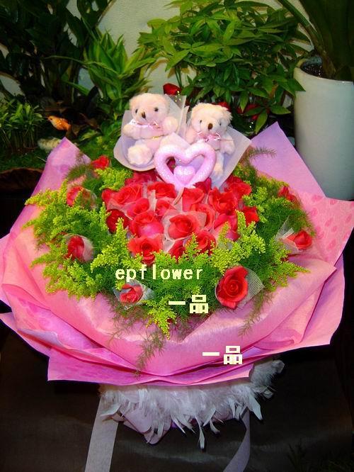 櫻花紅玫瑰